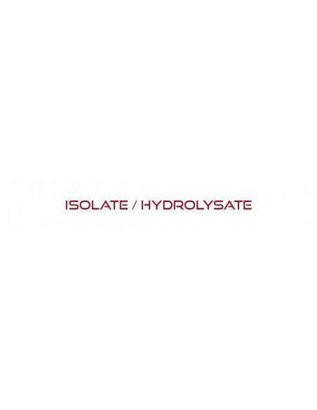 Isolate / Hydrolysate
